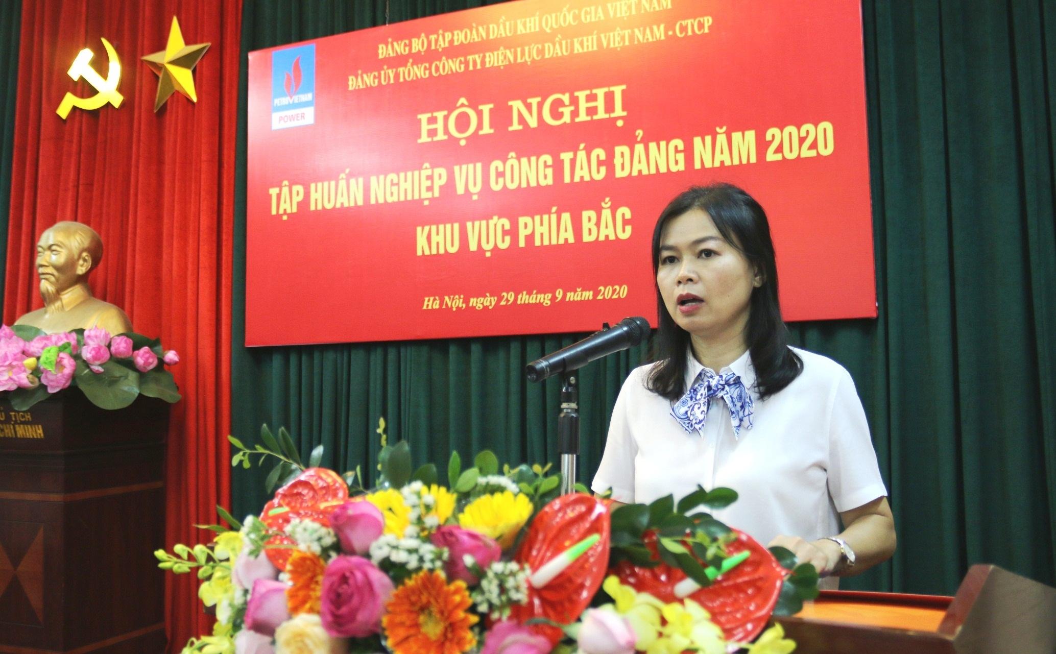 pv power to chuc hoi nghi tap huan cong tac dang nam 2020 khu vuc phia bac