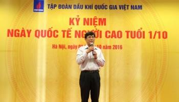 PVN gặp mặt cán bộ hưu trí nhân Ngày Quốc tế Người cao tuổi