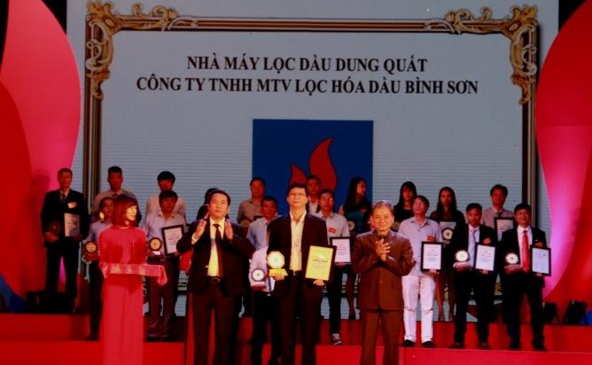 bsr duoc vinh danh top 10 nha may xanh than thien nam 2017
