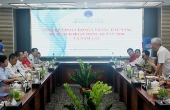 Lãnh đạo VPA làm việc tại Chi hội Dầu khí Cà Mau