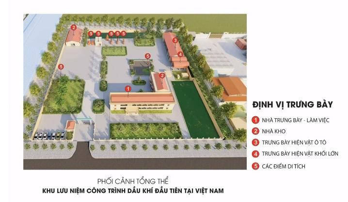 """Địa chỉ đỏ """"Khu lưu niệm công trình Dầu khí đầu tiên tại Việt Nam"""""""