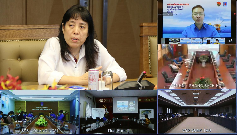 Tuổi trẻ Dầu khí tổ chức diễn đàn đóng góp ý kiến Dự thảo Luật Dầu khí (sửa đổi)