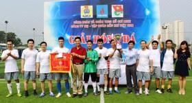 Bế mạc Giải bóng đá Cơ quan Tập đoàn Dầu khí Việt Nam 2014