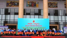 """Tuổi trẻ PVN đạt giải hội trại """"Dấu ấn thanh niên tình nguyện"""" Bắc Giang"""