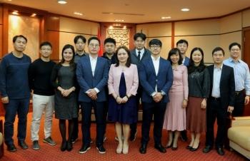Công đoàn Dầu khí Việt Nam tiếp Công đoàn Hóa chất Dầu khí Hàn Quốc