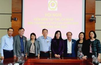 Hội nghị kiểm điểm tập thể, cá nhân Ban Thường vụ Hội CCB Tập đoàn năm 2020