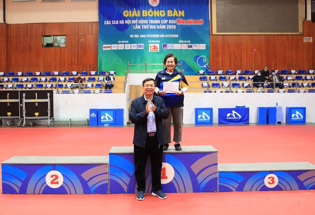 Petrovietnam giành 3 huy chương Giải bóng bàn tranh Cúp Báo Hànộimới lần thứ VIII