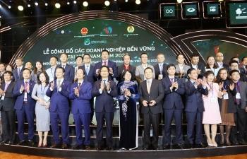 PV Power và PVPower NT2 được tôn vinh trong Top 100 doanh nghiệp bền vững năm 2020