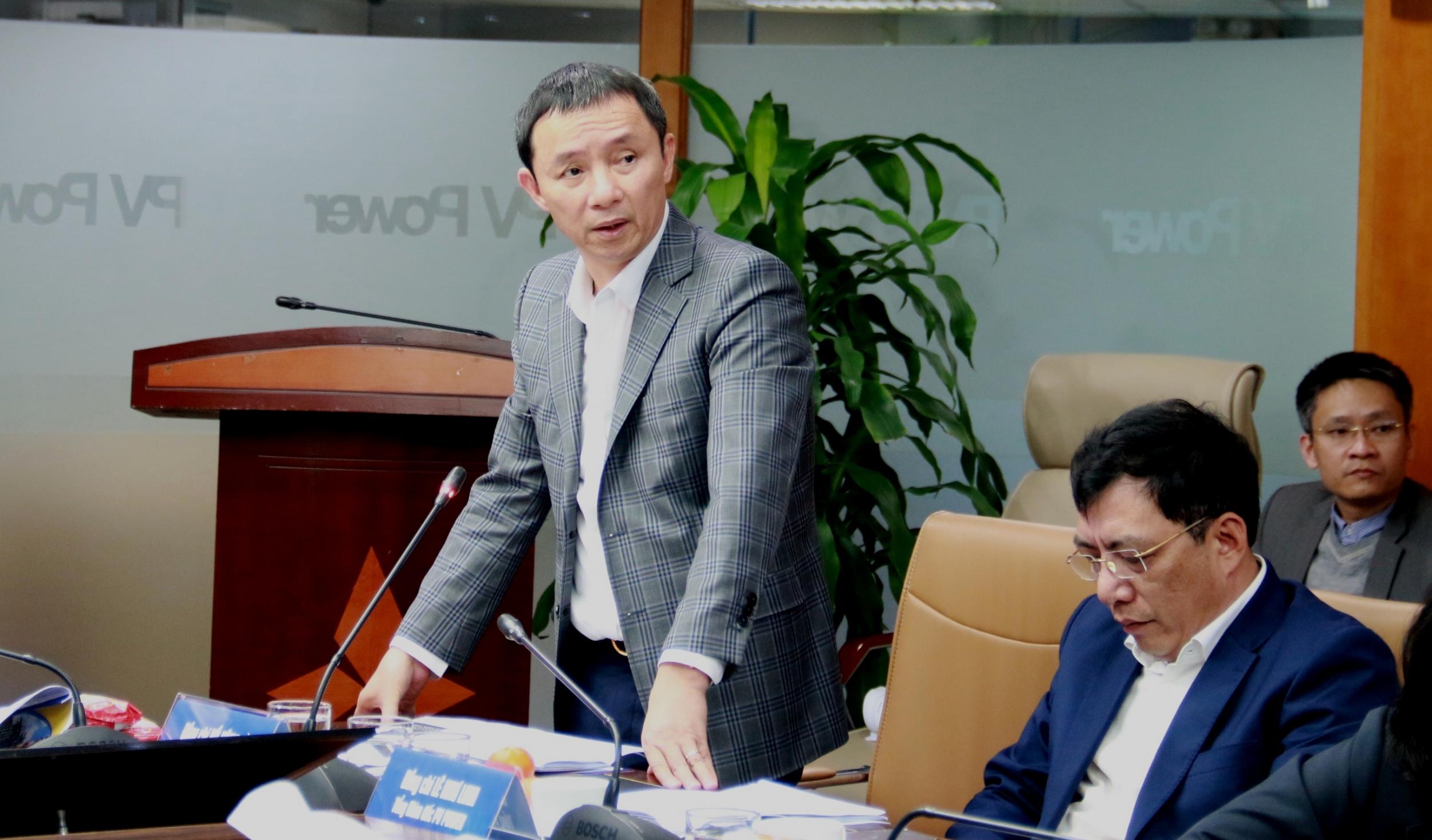 Chủ tịch HĐTV Petrovietnam Hoàng Quốc Vượng làm việc với PV Power