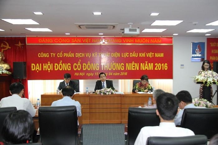 pvps to chuc dai hoi co dong thuong nien 2016