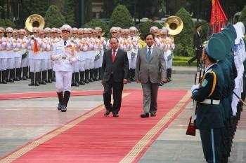 Thủ tướng Cô-oét Al-Sabad thăm chính thức Việt Nam