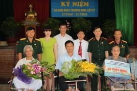 PVN: Thăm và tặng quà các thương binh nặng tại Bắc Ninh