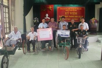TKV tri ân các thương bệnh binh, người có công với cách mạng