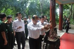 PVN dâng hương tưởng nhớ Chủ tịch Hồ Chí Minh