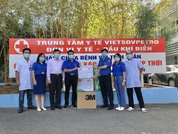 Tuổi trẻ Vietsovpetro tiếp sức cho tỉnh Hải Dương chống dịch