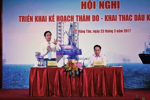 PVN tổ chức hội nghị Triển khai kế hoạch thăm dò khai thác dầu khí 2017