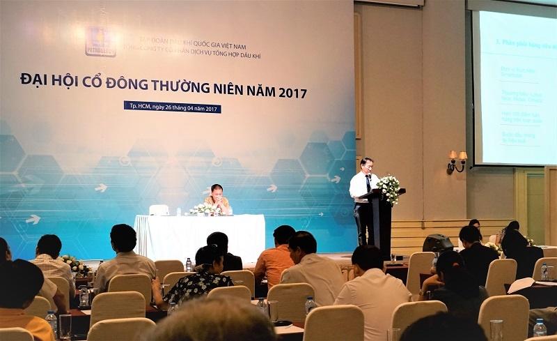 petrosetco dieu chinh chia co tuc nam 2016 bang tien mat