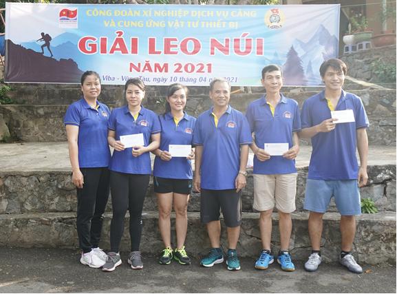 Công đoàn Xí nghiệp Dịch vụ tổ chức Giải Leo núi năm 2021