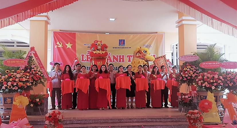 Khánh thành công trình trường học do Vietsovpetro tài trợ