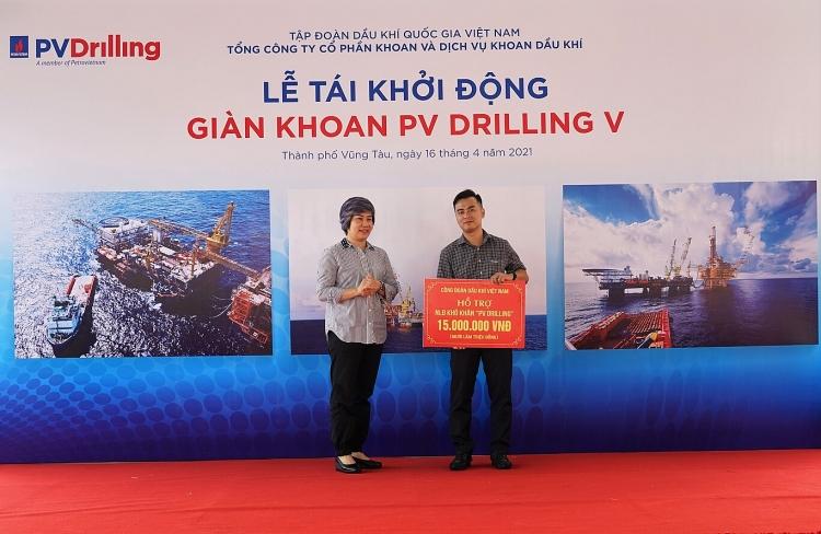 PV Drilling tái khởi động giàn khoan PV DRILLING V