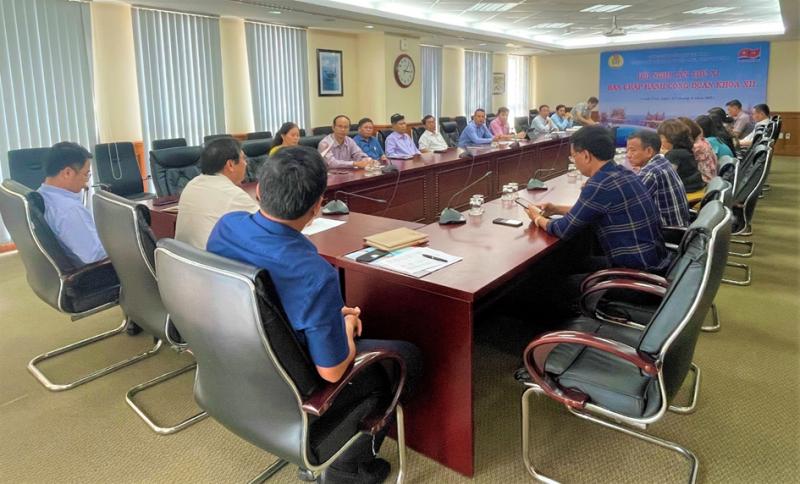Ban Chấp hành Công đoàn Vietsovpetro tổ chức kỳ họp thứ 11 khóa XII