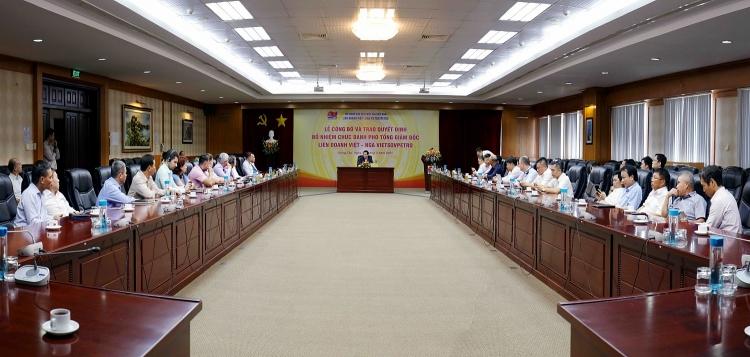 Bổ nhiệm Phó Tổng Giám đốc Liên doanh Việt – Nga Vietsovpetro