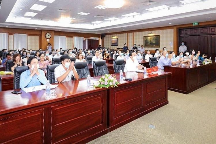 Hội nghị tiếp xúc cử tri Vietsovpetro với ứng cử viên Đại biểu Quốc hội