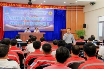 Công đoàn ĐLDK Nhơn Trạch đối thoại định kỳ với người lao động