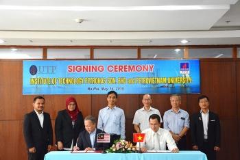 Đại học Dầu khí Việt Nam ký kết thoả thuận hợp tác với Viện Công nghệ Petronas