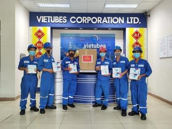 Công đoàn PV Drilling cấp phát 5.230 hộp khẩu trang cho người lao động