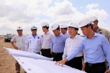 Lãnh đạo PVN kiểm tra tiến độ 2 dự án nhiệt điện miền Nam