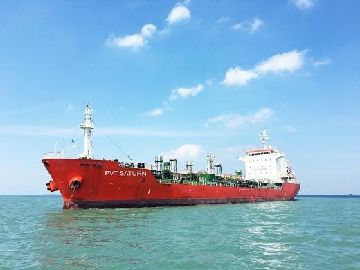 PV Trans hoàn tất đầu tư, tiếp nhận tàu PVT Saturn tại Singapore