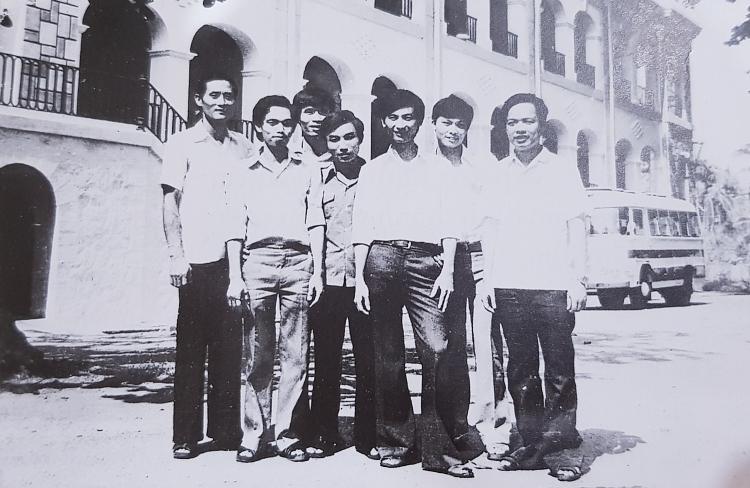 Ban Chấp hành Chi đoàn Thanh niên Cộng sản Hồ Chí Minh Vietsopetro khóa I (năm 1982)