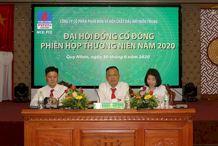 pvfcco central to chuc thanh cong phien hop dhdcd thuong nien nam 2020