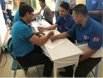 Vietsovpetro tích cực tham gia hiến máu nhân đạo
