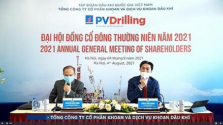 PV Drilling tổ chức thành công Đại hội đồng cổ đông thường niên trực tuyến năm 2021