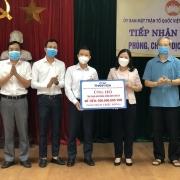 PTSC Thanh Hóa tiếp tục ủng hộ công tác phòng, chống dịch Covid-19