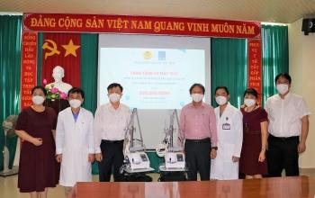 Công đoàn Dầu khí Việt Nam trao tặng máy thở cho tỉnh Bà Rịa - Vũng Tàu