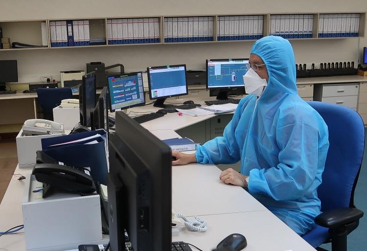kiểm tra hệ thống điều khiển của Hệ thống Khí Nam Côn Sơn 1