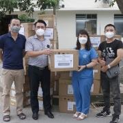 PTSC ủng hộ công tác phòng chống dịch Covid-19 tại TP HCM