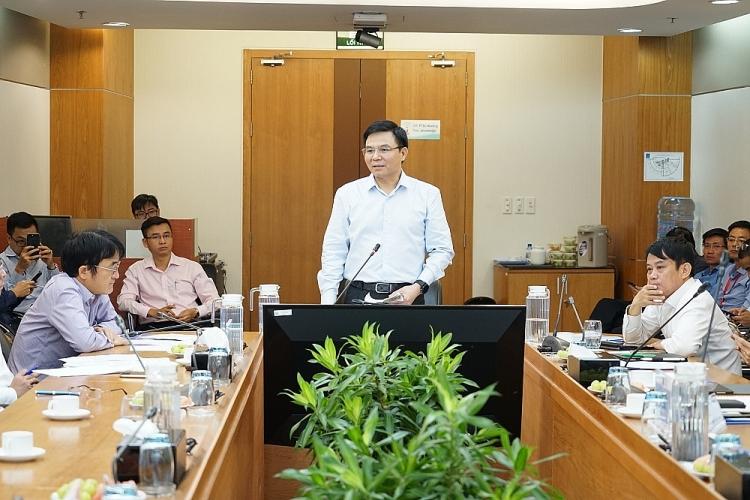 Tổng giám đốc PVN Lê Mạnh Hùng làm việc với PTSC