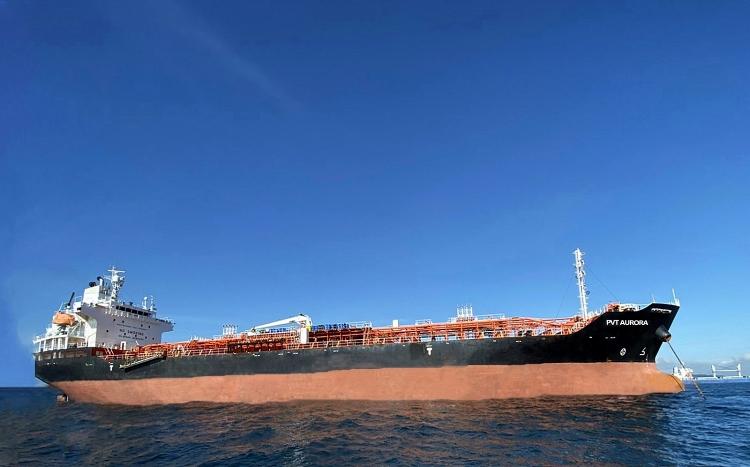 PVTrans nhận bàn giao đầu tư mới tàu PVT AURORA tại Panama