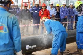 PVC-MS khởi công gói thầu SMP1B cho Dự án Tổ hợp lọc hóa dầu Nghi Sơn