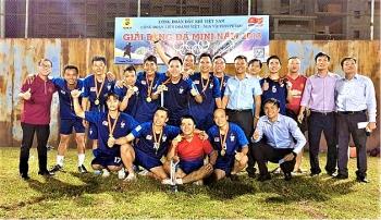 Xí nghiệp Khoan và Sửa giếng vô địch giải Bóng đá Vietsovpetro năm 2018