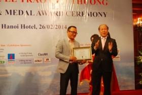 """Giàn khoan Tam Đảo 03 nhận giải thưởng """"Sản phẩm tàu ngoài khơi tốt nhất"""""""