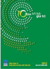 """Báo cáo thường niên 2012 của PVFCCo tiếp tục """"gặt vàng"""""""