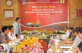 Chủ tịch Tổng liên đoàn Lao động VN thăm và làm việc tại PV Drilling