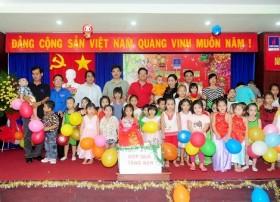 pvc mekong to chuc lien hoan trung thu yeu thuong