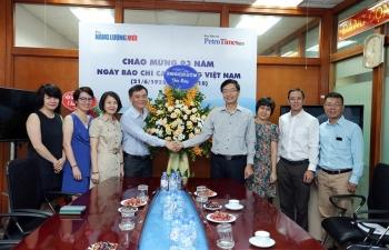 PVN và nhiều tổ chức, doanh nghiệp chúc mừng Báo Năng lượng Mới