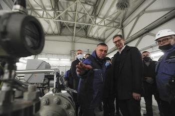 Đường ống Balkan Stream góp phần quan trọng giúp ổn định năng lượng của Serbia